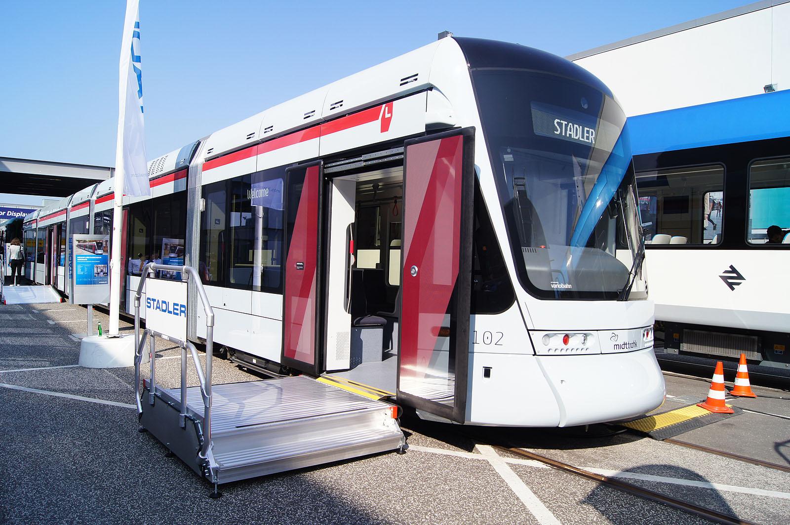 [DK] In the picture: Variobahn for the Aarhus Letbane network