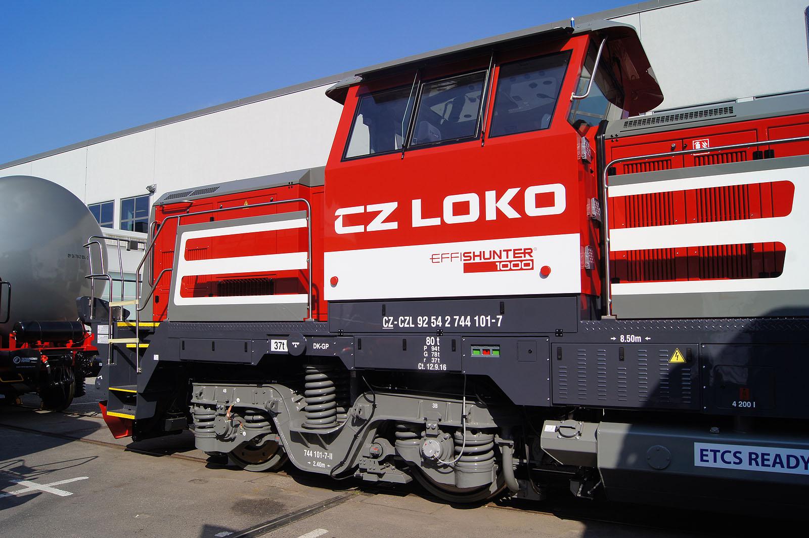 [CZ] CZ Loko: 744 101 'EffiShunter 1000' meets Stage IIIB emission standards