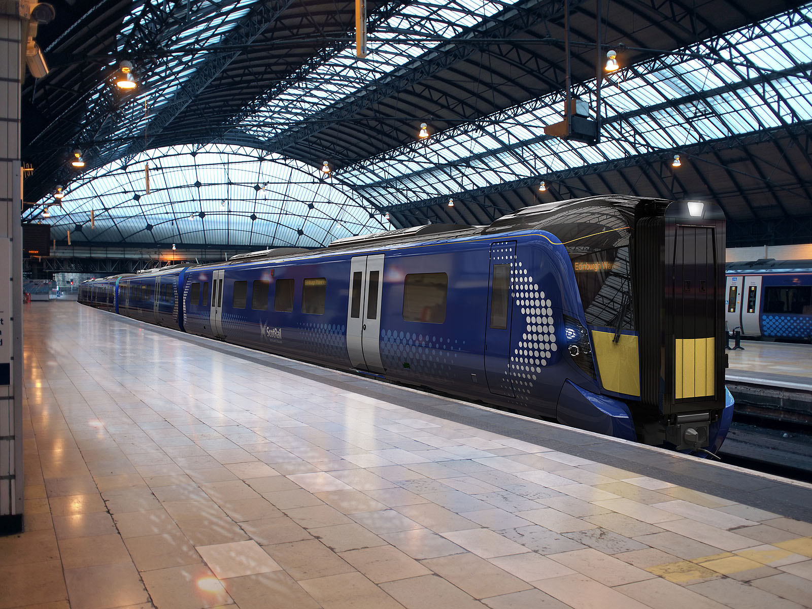 [UK] Abellio presents the new AT200 trains for its ScotRail franchise