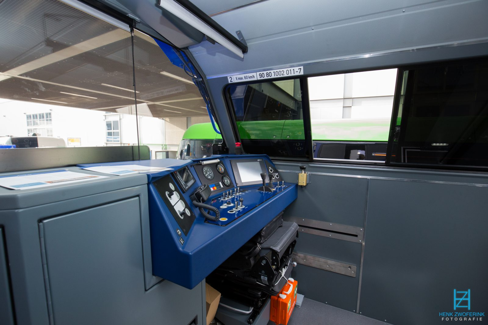 Alstom H3 for Metrans driver cab - Henk Zwoferink