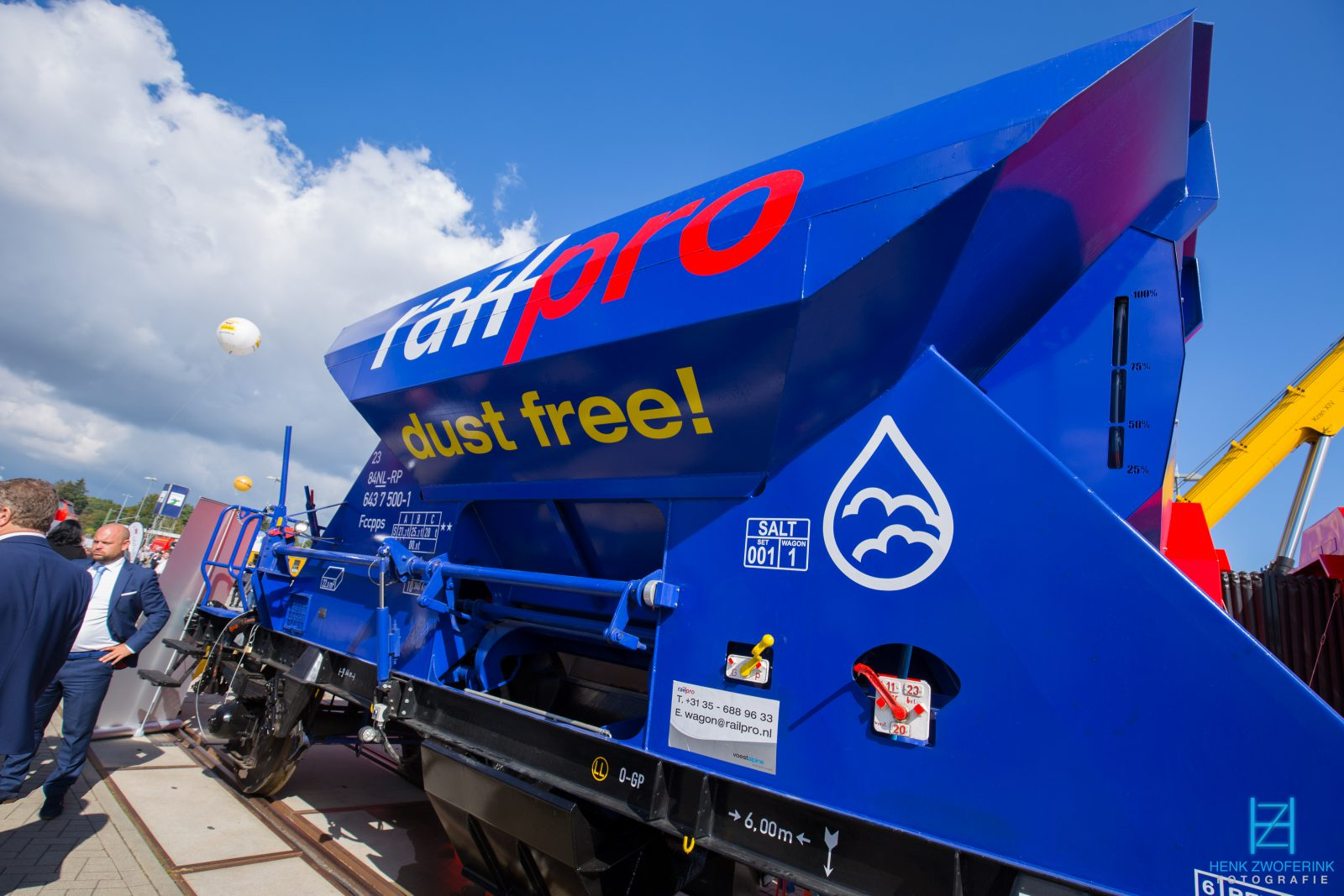 Railpro dust free - Henk Zwoferink