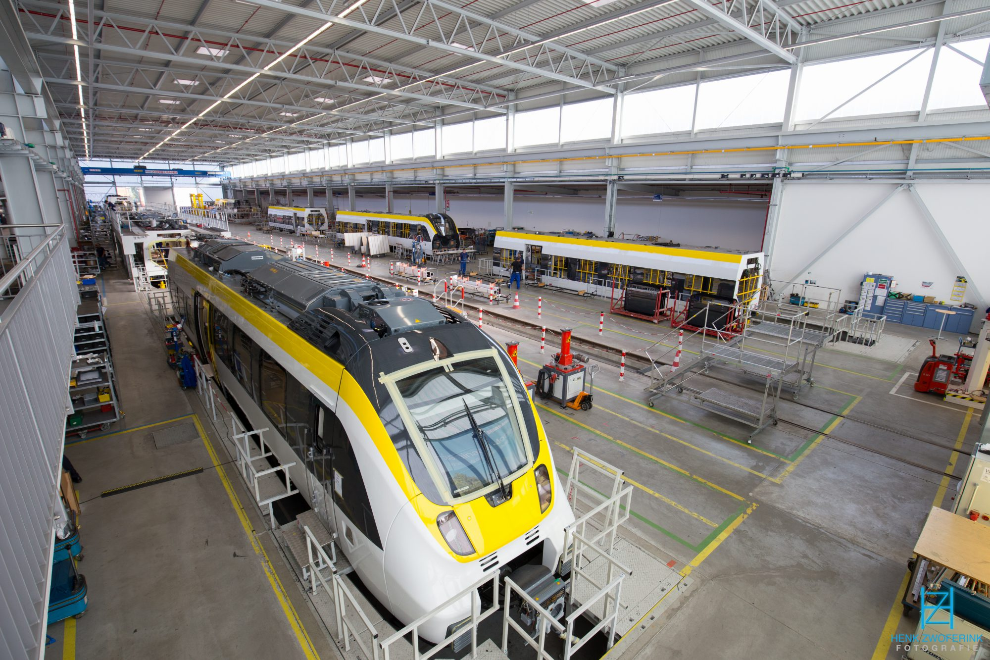 Bombardier @ Hennigsdorf: Building Talent2 trains for DB Regio, to be used at the Gäu-Murr network - Henk Zwoferink