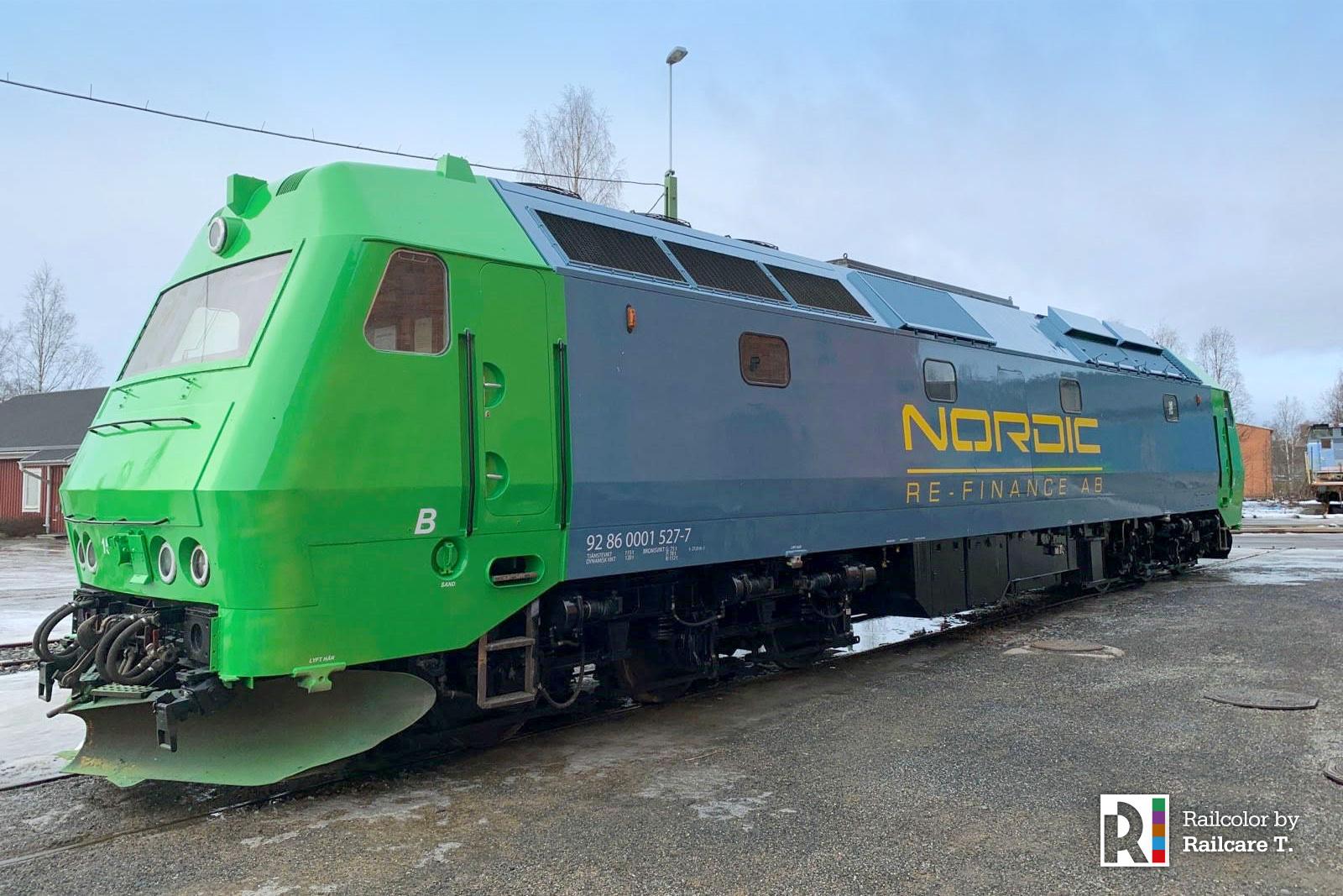 rail test nordic