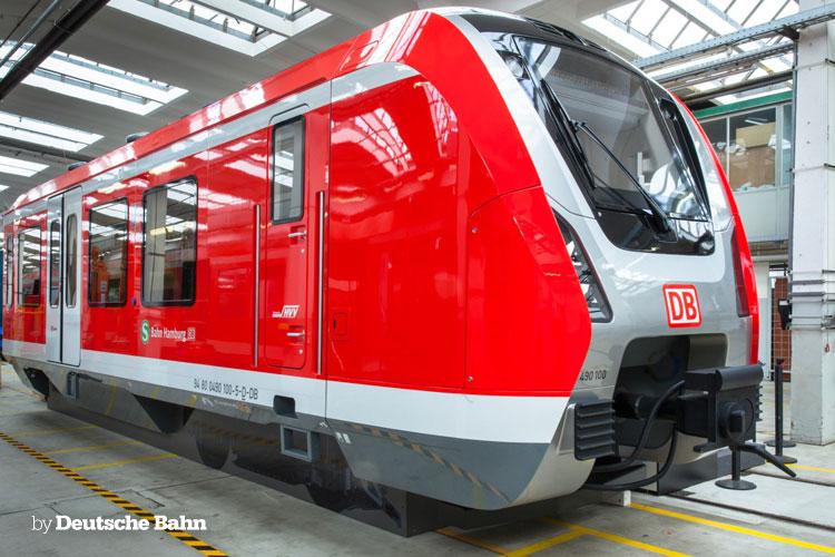 [DE] Mock-up of DB 490 for the Hamburg S-Bahn