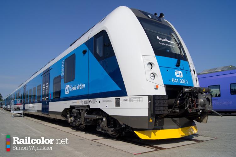 [CZ] Czech railways want 'RegioPanter' trains for long-distance services