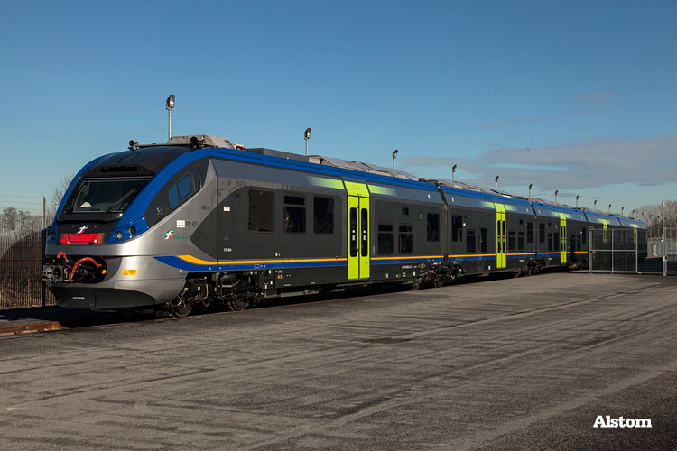 [IT] The new livery for regional trains of Trenitalia