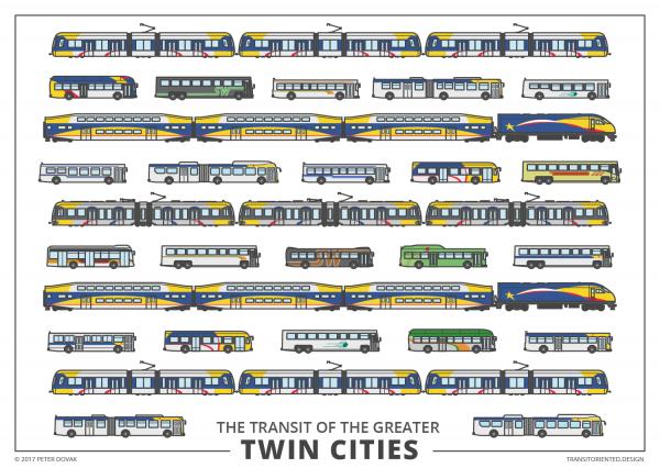 Creativity] US transit illustrations by Peter Dovak