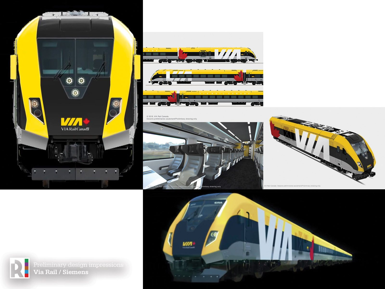 CA] VIA Rail Canada orders Charger locomotives and passenger