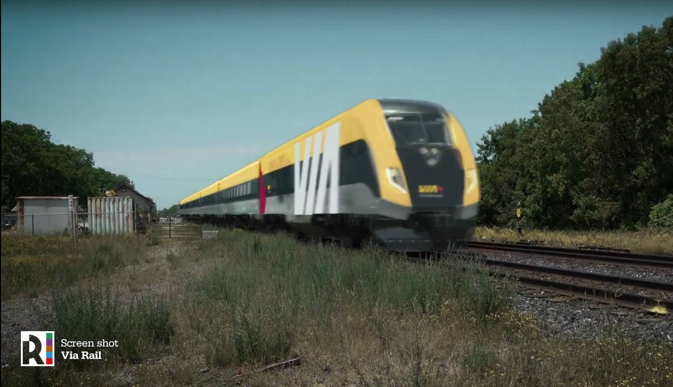 CA] VIA Rail Canada orders Charger locomotives and passenger trains