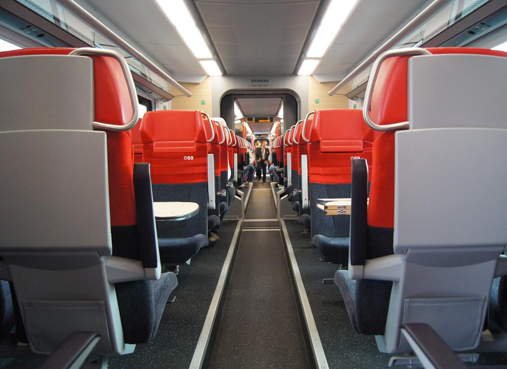 Interior of CityJet no. 4746 030.