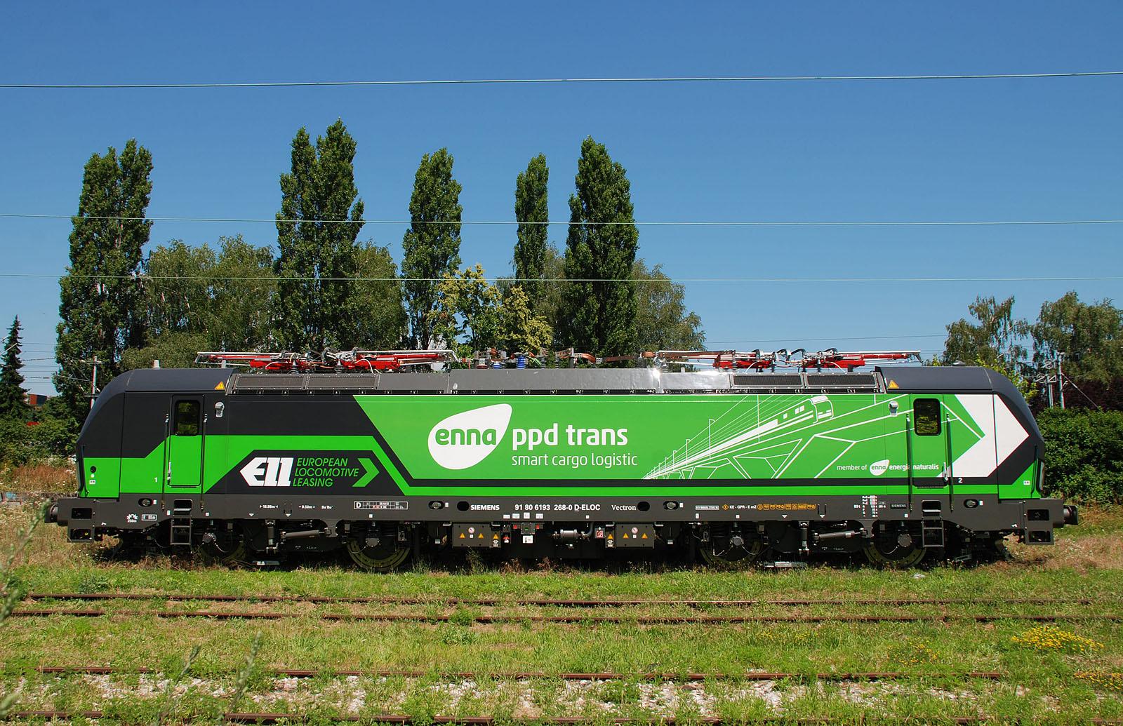 ELL > PPD 193 268 at Zagreb-Borongaj. 08.07.2016 - Copyright Toma Bacic