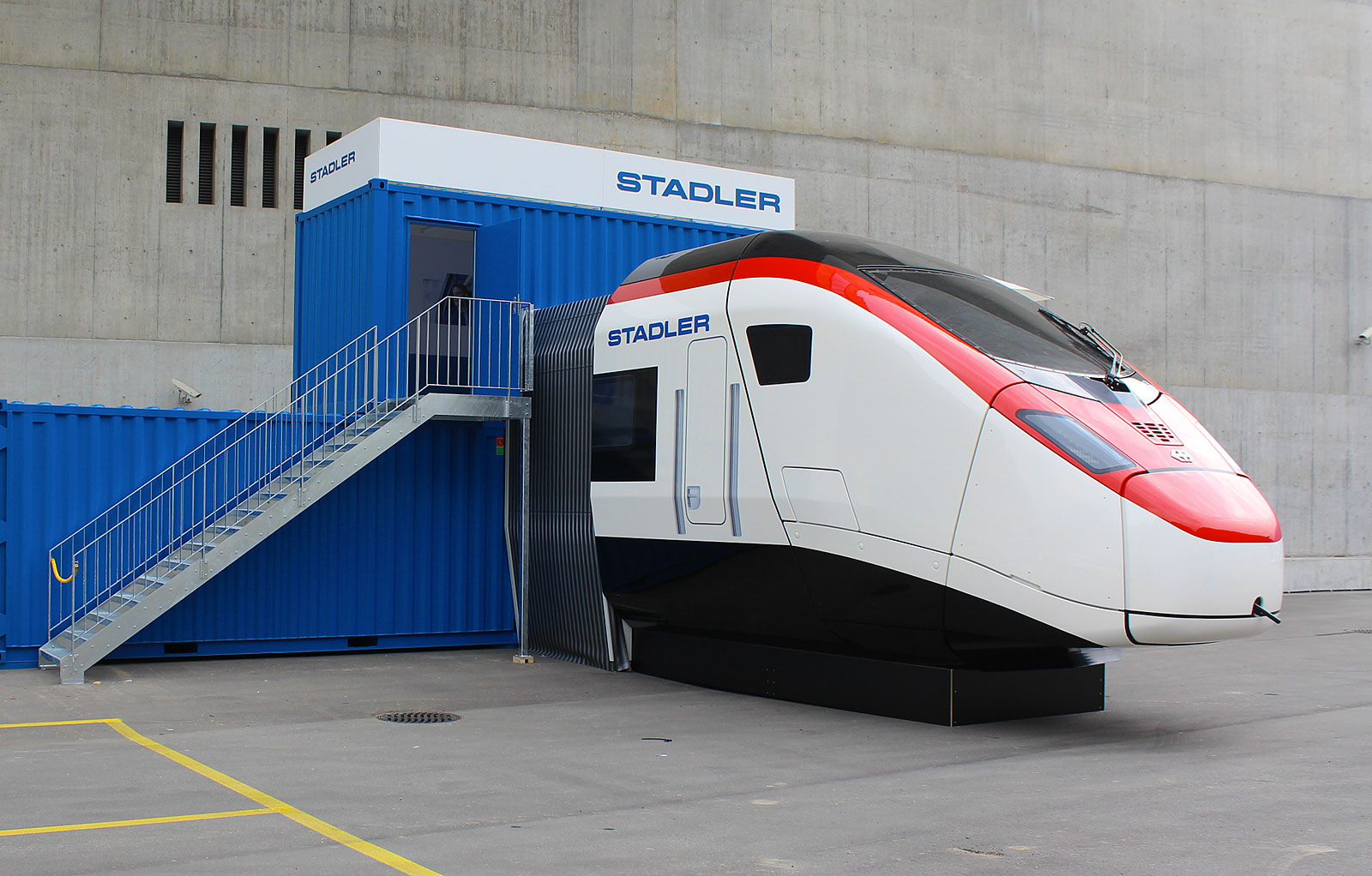A Giruno simulator. Copyright Stadler Rail